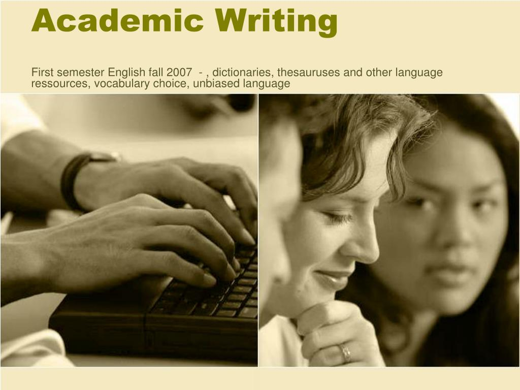 academic writing l.