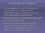 encefalitis por herpes