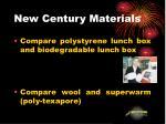 new century materials