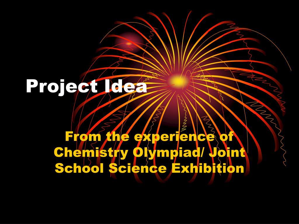 project idea l.