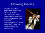 a growing industry