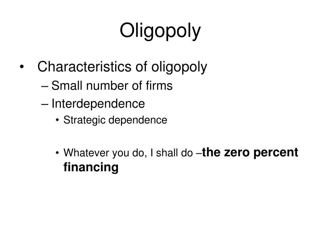 oligopoly l.