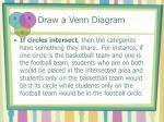 draw a venn diagram4