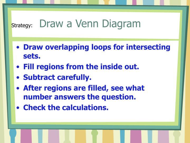 Ppt draw a venn diagram powerpoint presentation id69782 strategy draw a venn diagram ccuart Choice Image