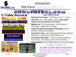 introduction bob davis www soul patrol com