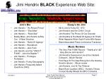 jimi hendrix black experience web site http www soul patrol com funk jh htm