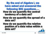 by the end of algebra i we have asked and answered the following big questions