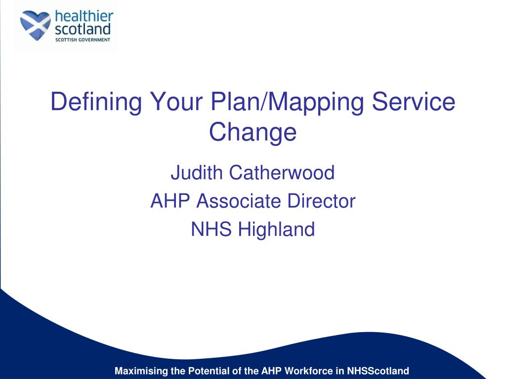 defining your plan mapping service change l.