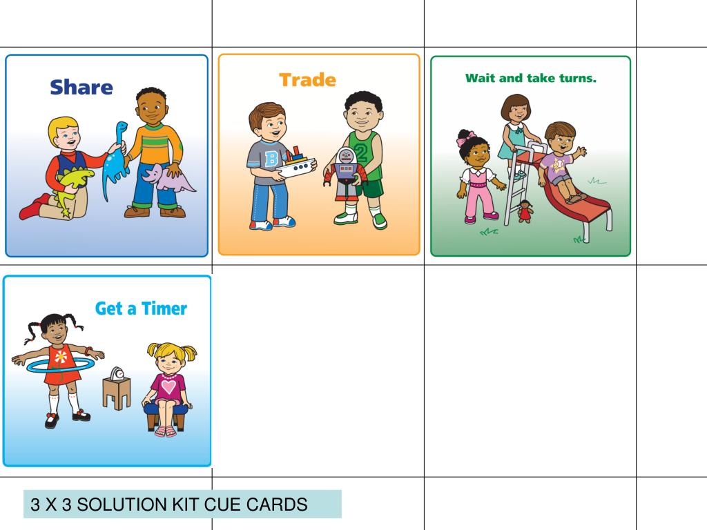Ppt 2 X 2 Solution Kit Cue Cards Powerpoint Presentation