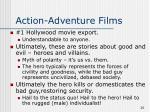 action adventure films