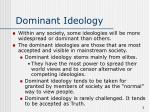 dominant ideology