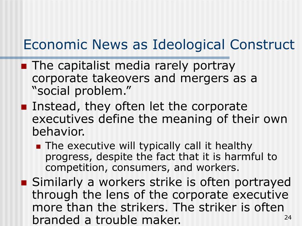 Economic News as Ideological Construct