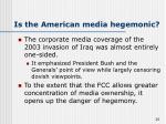 is the american media hegemonic20