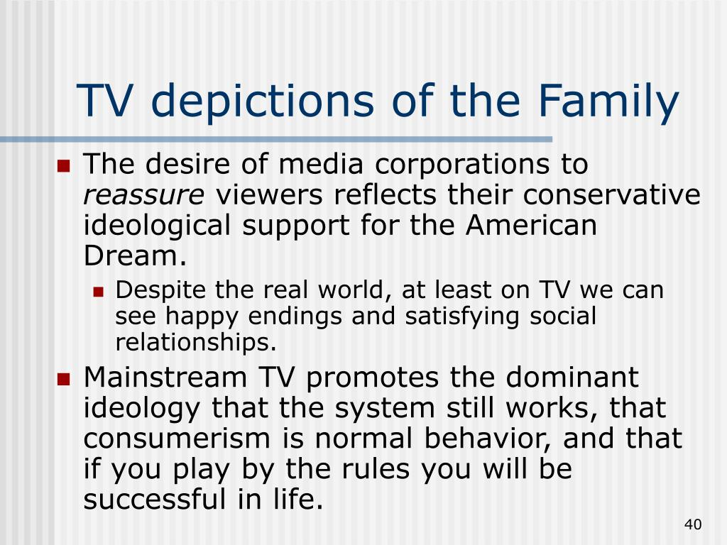 TV depictions of the Family