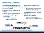 cme group overview