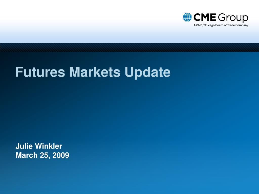 futures markets update l.