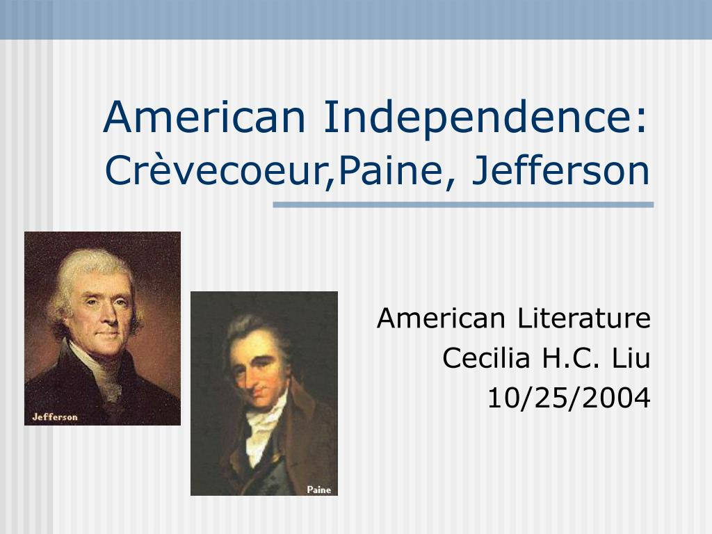 american independence cr vecoeur paine jefferson l.