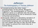jefferson the autobiography of thomas jefferson22