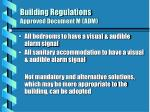 building regulations approved document m adm15