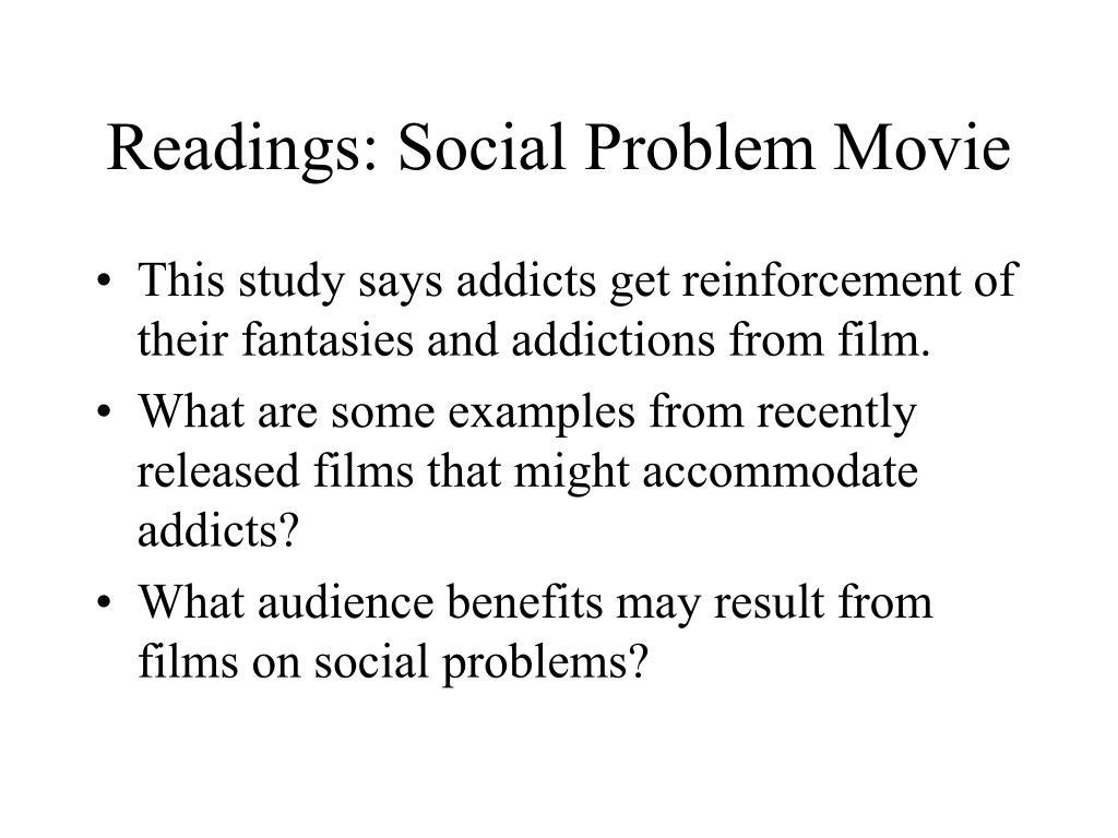 Readings: Social Problem Movie