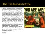 the shadow archetype