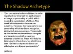 the shadow archetype8