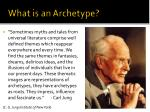 what is an archetype5