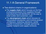 11 1 a general framework