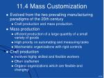 11 4 mass customization