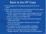 back to the hp case39