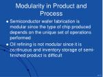 modularity in product and process17