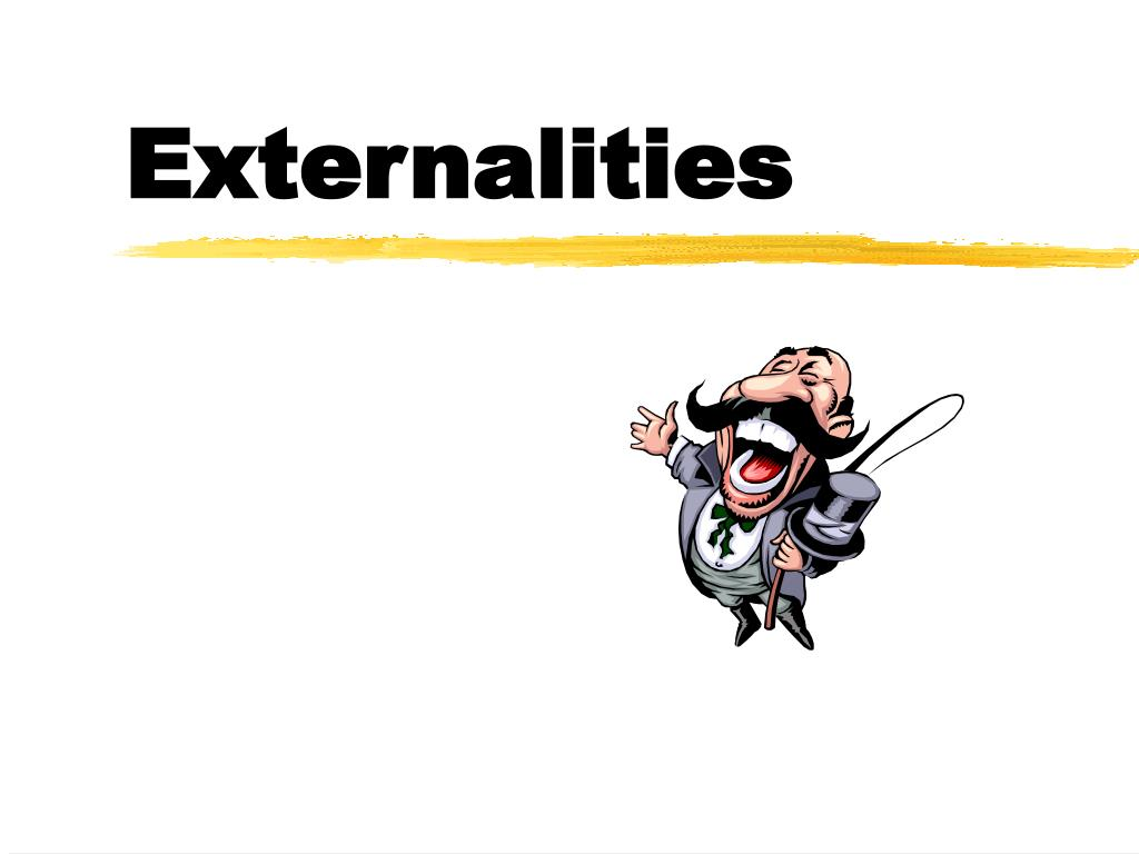 externalities l.