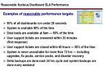 reasonable xcelsius dashboard sla performance
