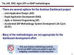 the jad rad agile xp or asap methodologies