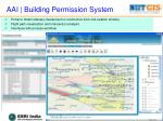 aai building permission system