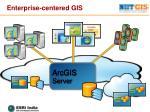 enterprise centered gis