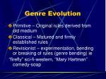 genre evolution43