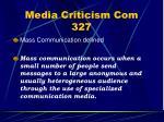 media criticism com 3277