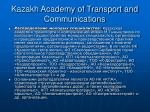 kazakh academy of transport and communications14