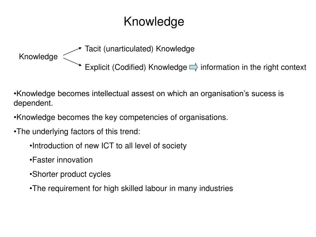 knowledge l.