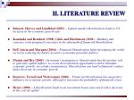 ii literature review