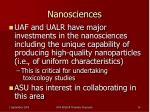 nanosciences