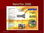nanotox 2006