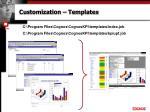 customization templates