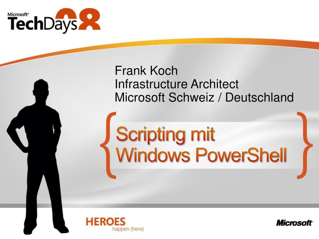 scripting mit windows powershell l.