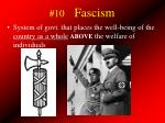 10 fascism
