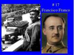 17 francisco franco