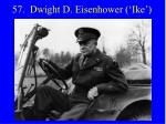 57 dwight d eisenhower ike