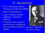 70 marshall plan