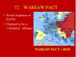 72 warsaw pact